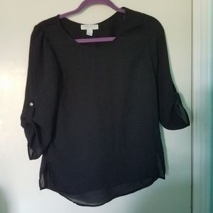 Quater sleeve blouse